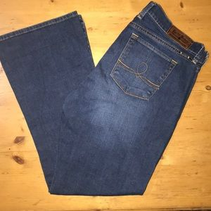 Lucky Brand Jeans Sofia Boot Cut 14 Ankle